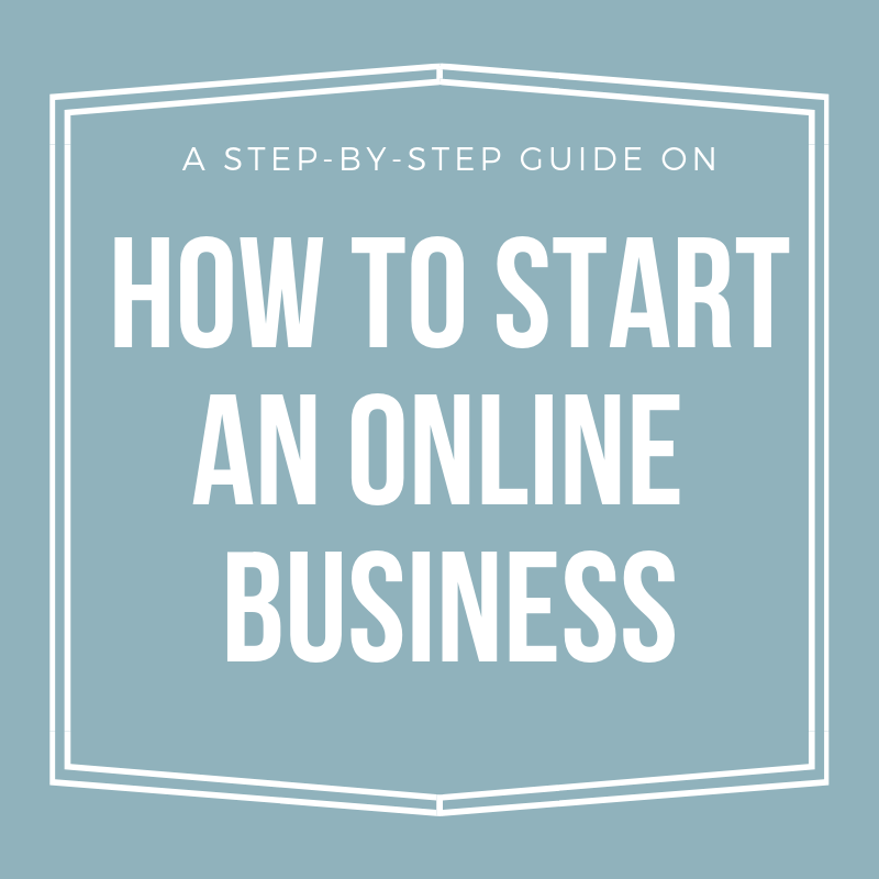 A step-by-step guide on how to set up an online business